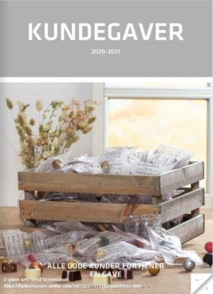 Kundegaver Katalog 2020 - 2021