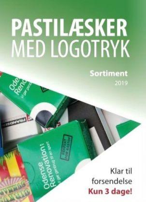 Pastilæsker med Logotryk