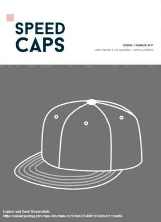 Speed Caps katalog 2021