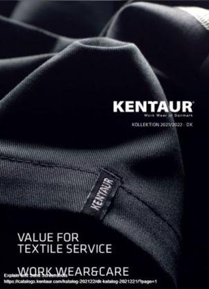 Kentaur Workwear of Denmark, kollektion 2021/2022