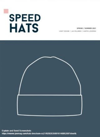 Speed Hats katalog 2021