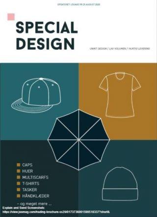 Special Design Aug. 2020