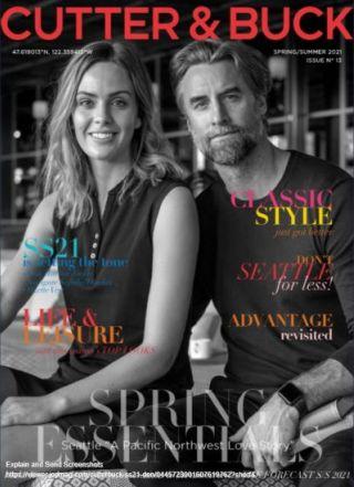 Cutter & Buck Spring & Summer Katalog 2021